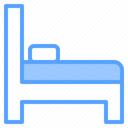 bed, hotel, person, service, staff, travel, work icon