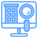 hotel, person, search, service, staff, travel, work icon