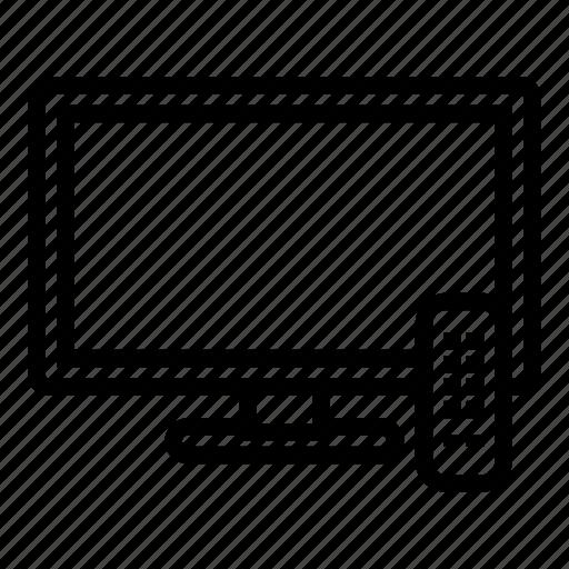 hotel, service, television, travel, tv icon
