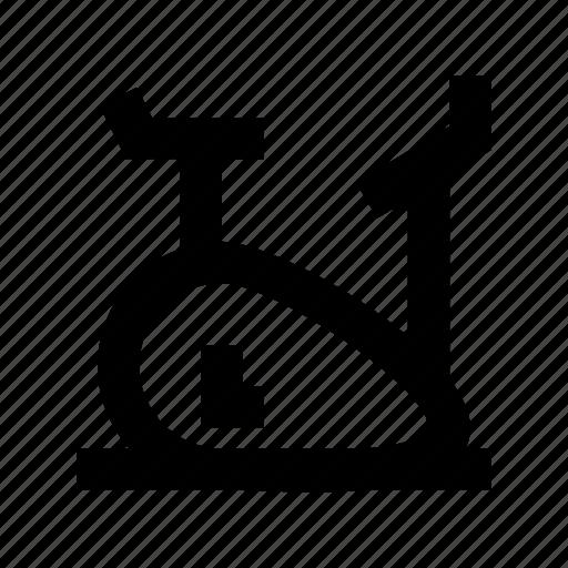 cycle ergometer, exercise bicycle, exercise bike, exercycle, stationary bicycle icon