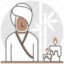 aromatherapy, hostel, hotel, massage, resort, services, spa icon