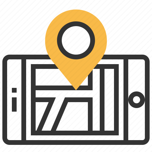 country, direction, location, map icon