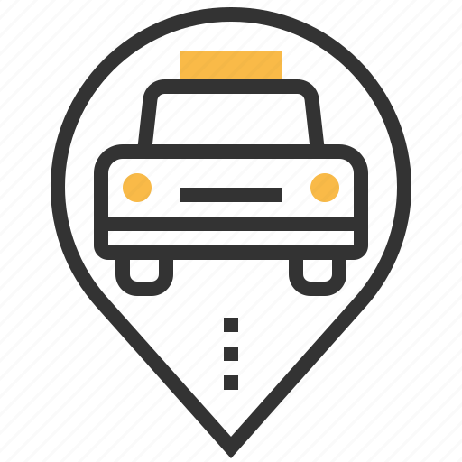 driver, sign, taxi, traffic, transportation, travel icon
