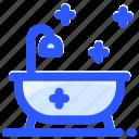 bathroom, bathtub, furniture, shower