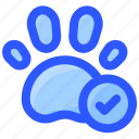 allowed, footprint, hotel, pet, sign