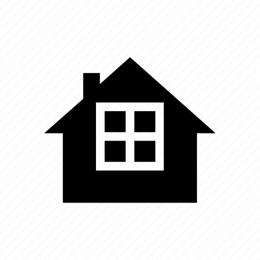 construction, home, house, property, real estate, view, window icon