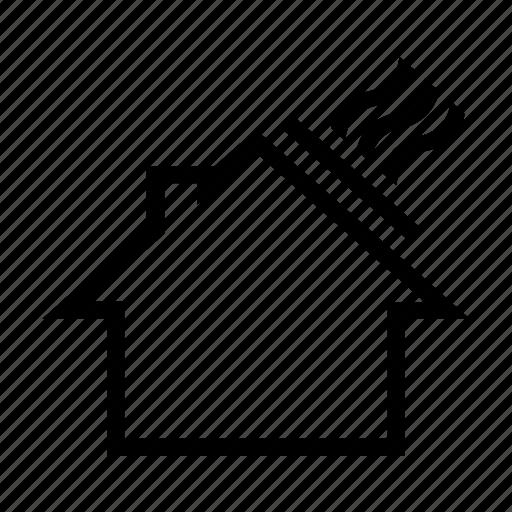 electric, energy, heating, house, panel, power, solar icon