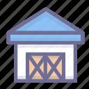 framhouse, storehouse, warehouse icon