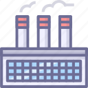 factory, house, manufacturing icon