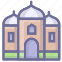 building, castle, house, tower icon