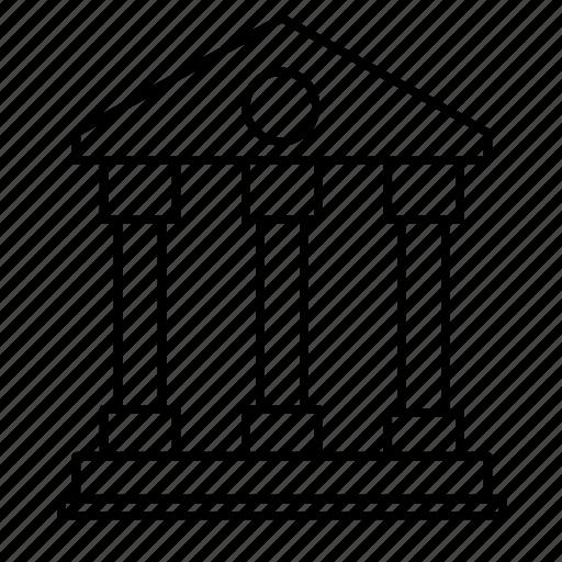 architecture, building, castle, construction, house icon