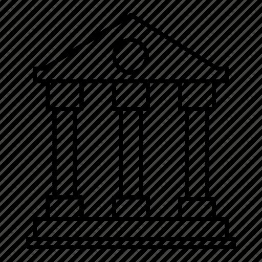 building, castle, construction, house icon