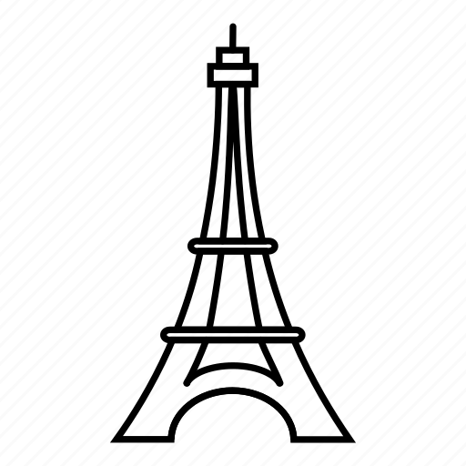 architecture, building, city, paris icon