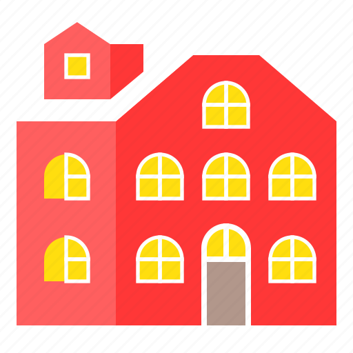 building, construction, home, house, real estate icon