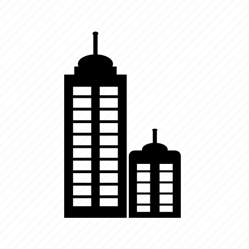 architecture, building, commercial, it park, office, real estate, tower icon