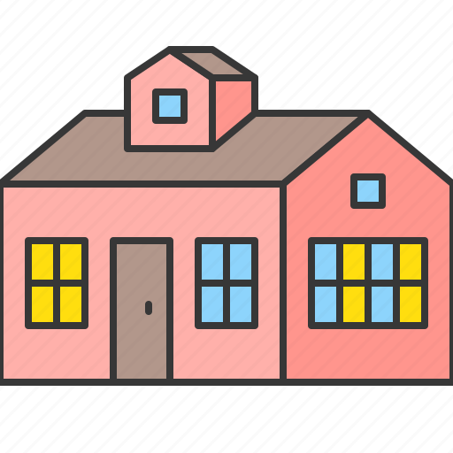 Building, construction, estate, home, house, real estate icon - Download on Iconfinder