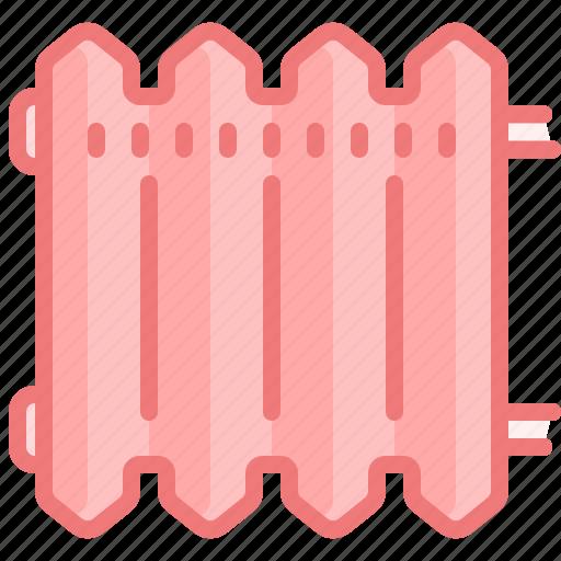 climate, heat, home, house, interior, radiator, warm icon