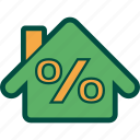 discount, home, house, percentage, sell