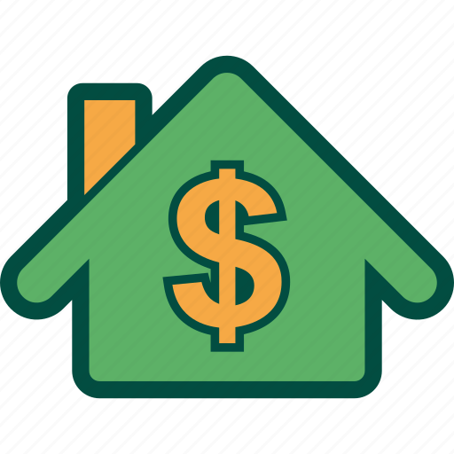 credit, home, house, mortgage, price icon