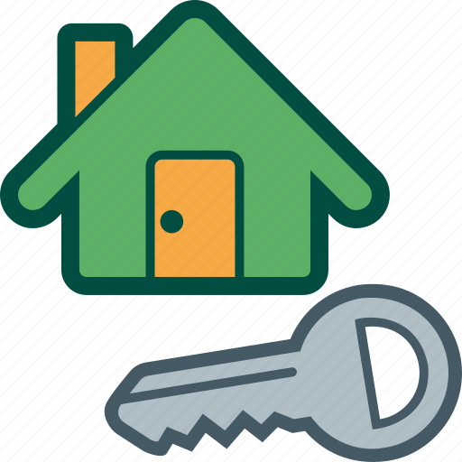 home, house, key, owner, property icon