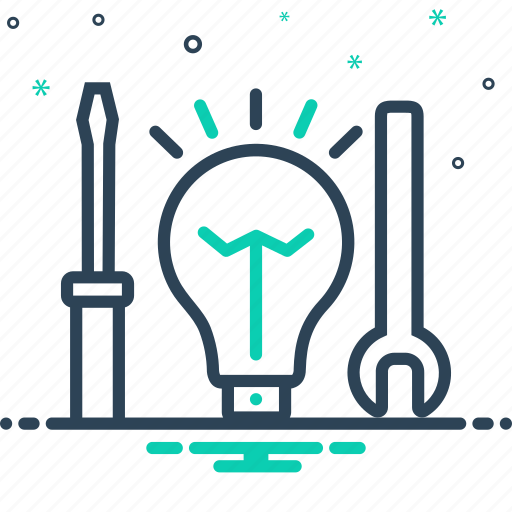 electric, electric service, nippers, screwdriver, service, tool icon