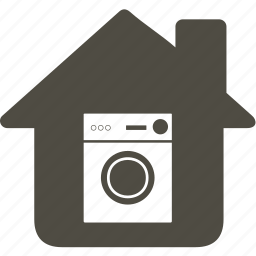 architecture, building, home, house, washing machine icon