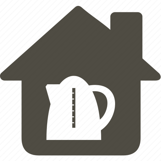 architecture, building, home, house, teapot icon