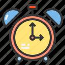 alarm, colck, household, kitchenware, tool icon