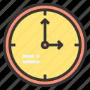 clock, household, kitchenware, tool icon