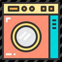 household, kitchenware, tool, washer icon