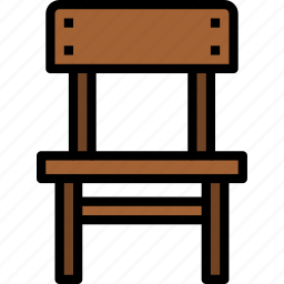 chair, equipment, furniture, home, household, object icon