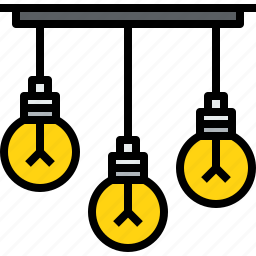 appliances, equipment, home, household, light, object icon