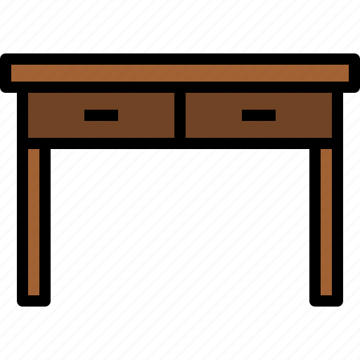equipment, furniture, home, household, object, table icon