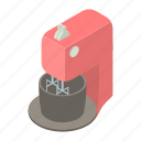 blender, cartoon, electric, electronic, food, kitchen, mixer icon