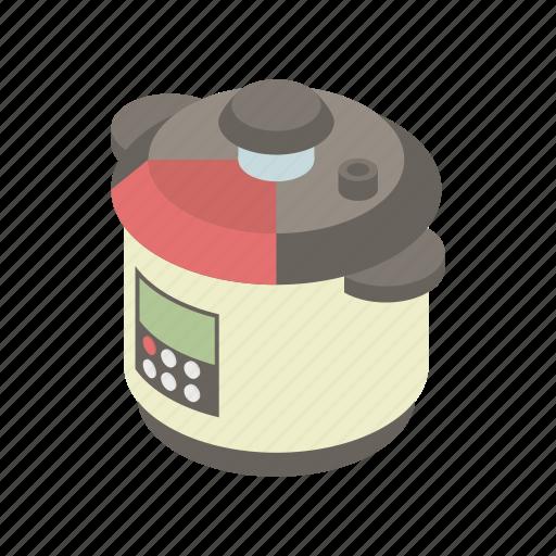 cartoon, cooker, cooking, kitchen, menu, multicooker icon