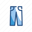 clothes, clothing, pants, trousers icon