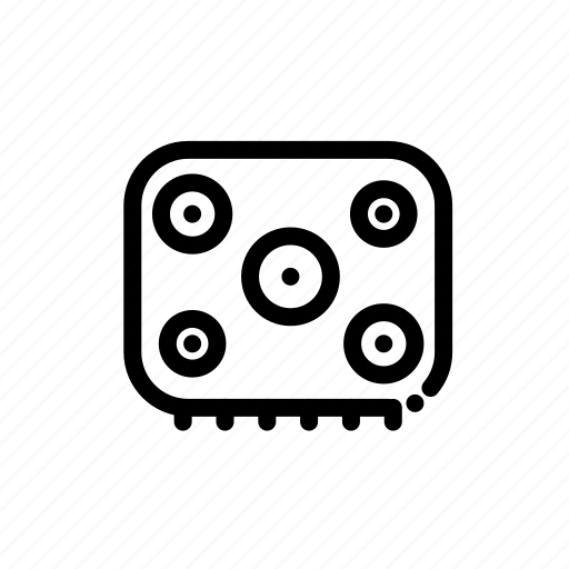 appliance, cooking, household, kitchen, stove icon
