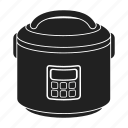 appliance, cooking, electric, equipment, household, multivarka, technique icon