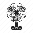 appliance, electric, equipment, fan, household, technique icon