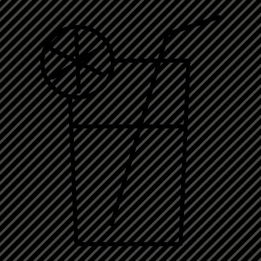 beverage, drink, household, juice, lemonade, lemonade glass icon