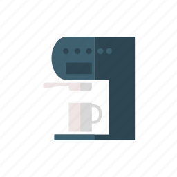 coffee, coffee maker, household, household equipment, presso, pressomat icon