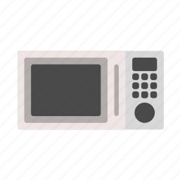 cook, cooking, fast cooking, fastfood, household, household equipment, microwave icon