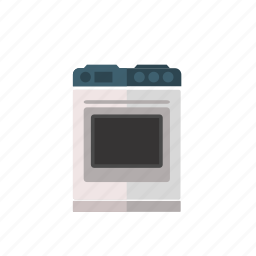 cooker, cooking, household, household equipment, kitchen, oven icon