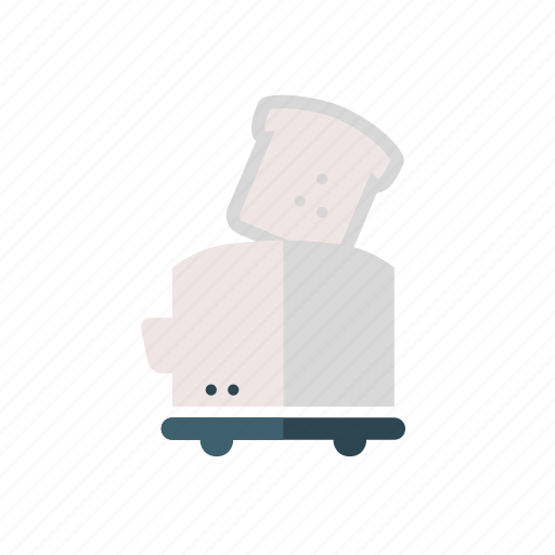 eating, household, household equipment, kitchen, toast, toaster, toasts icon