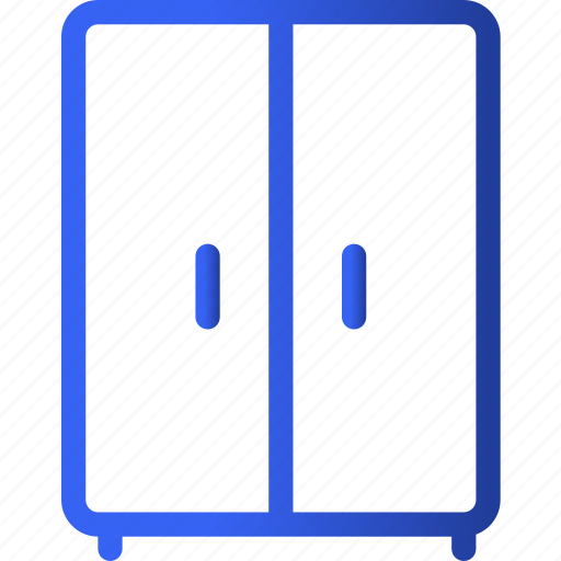 appliances, closet, furniture, home, hotel, household, room icon