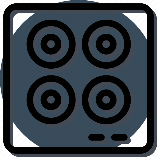 Appliance, furniture, home, house, household, interiror, stove icon - Download on Iconfinder