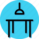 appliance, dinner table, furniture, home, house, household, table icon