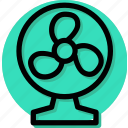 appliance, fan, furniture, home, house, household, table fan icon