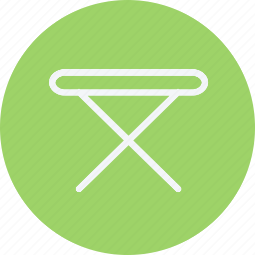 furniture, home, house, household, iron, room, table icon
