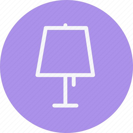 1, furniture, home, house, household, lamp, room icon